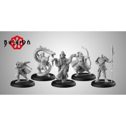 Figurines Bushido the Game - Starter Pack - ITO Clan