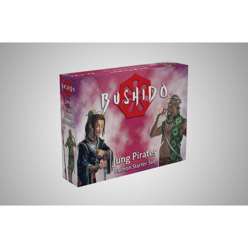 Figurines Bushido the Game - Starter Pack - Jung Pirates