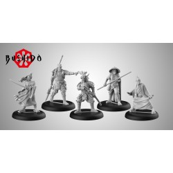 Figurines Bushido the Game - Starter Pack - Prefecture of Ryu