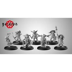 Figurines Bushido The Game - Starter Pack - Savage Wave