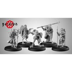 Figurine Bushido the Game - Starter Pack - Tengu