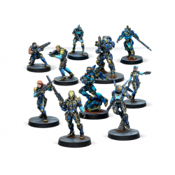 Infinity - O-12 Action Pack Fighouse Wildfire + 3 dés