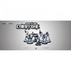 Infinity - Aleph Coldfront BattlePack (+ 3 dés)