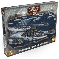 Dystopian Wars - Enlightened Frontline Squadrons
