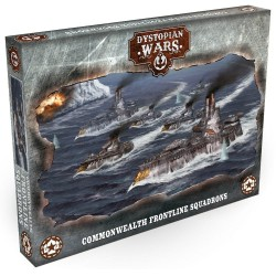 Dystopian Wars - Commonwealth Frontline Squadrons