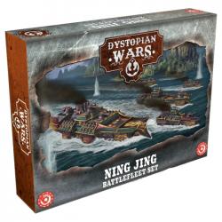Dystopian Wars - Ning Jing Battlefleet Set