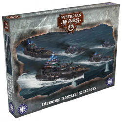 Dystopian Wars - Imperium Frontline Squadrons