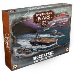 Dystopian Wars - Mohzayski Battlefleet Set