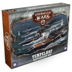 Dystopian Wars - Templehof Battlefleet Set