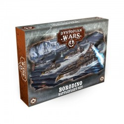 Dystopian Wars - Borodino Battlefleet Set