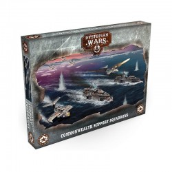 Dystopian Wars - Commonwealth Support Squadrons