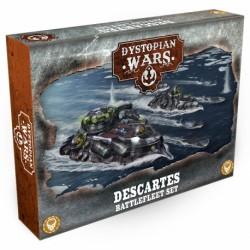 Dystopian Wars - Descartes Battlefleet Set